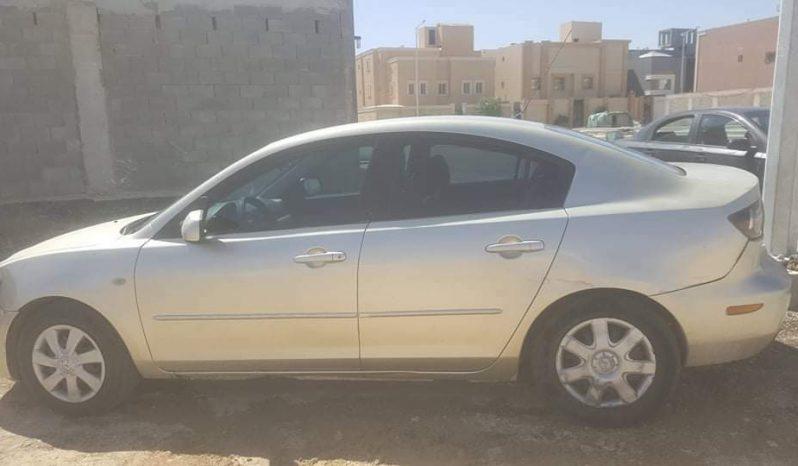 مازدا 3 موديل 2008 المكان الرياض ممتلئ