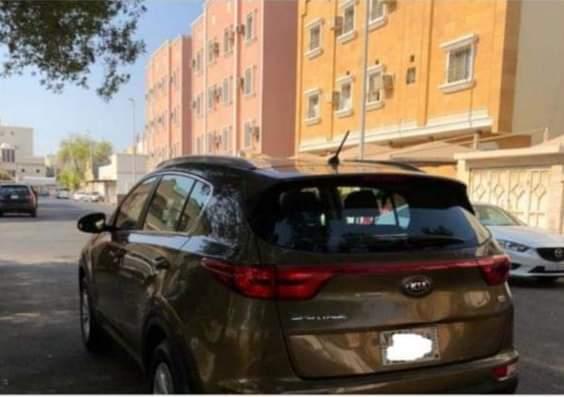 كيا اسبورتاج نظيف جدا موديل 2017 المكان الرياض ممتلئ